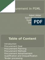 PSML Presentation