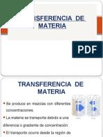 Transferencia de Materia