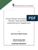Virtual Design and Construction