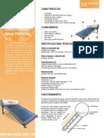 Calentador Solar Con Termotanque SCS