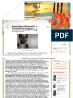 General View of Women in Pre-Colonial Africa_ Economy, Governance, Social [Part One] _ Yelhispressing