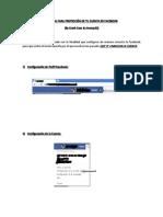 Manual de Protección Para Tu Cuenta en Facebook