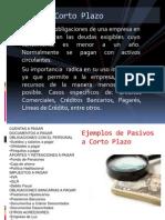 PRESENTACION PASIVO CIRCULANTE