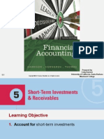 CH.5 Short-Term Investments & Receivables