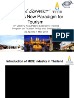 Thailand MICE - A New Paradigm for Tourism