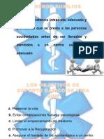 Presentación PRIMEROS AUXILIOS Estudio