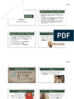 Hebrews LFBI survey ppt