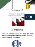 Volumen 5 ASTM Breve contenido