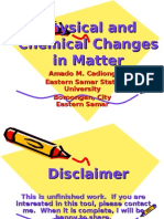 Chemical and Physical Changes PPP
