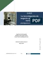 2015-Investigacion de Negocio Aplicada Al Turismo Inteligencia o Negligencia
