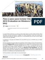 Paso a Paso Para Instalar SQL Server 2012 Evaluation en Windows 7 SP1 (32 Bits) - WarNov Developer Evangelist - Site Home - MSDN Blogs