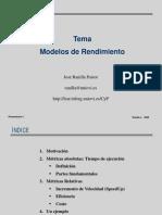 ModelosDeRendimiento algoritmos
