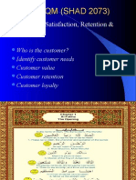 Week 4 Customer Satisfaction Retention Loyalty