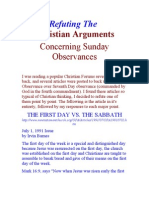 Refuting the Arguments of Christianity