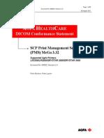 000532 SCP Print Management Service Class (PMS) Mega3.32-1 DICOM Conformance Statement