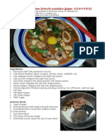Bob Levin-Kimchi Soft Tofu Stew