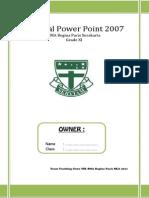 Modul PowerPoint- Kelas XI