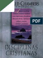 Disciplinas Cristianas - Oswald Chambers