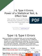 Radziwill Type i II Power Effect