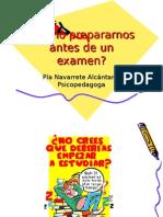 Que Hacer Antes de Un Examen