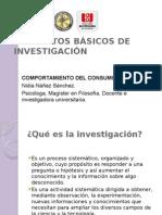 Conceptos Basicos de Investigacion - Presentacion