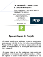 If Pernambuco - Tratamento de Lixo Eletronico No Municipio de Pesqueira e Regiao