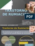 Trastorno de Rumiación