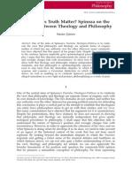 James Spinoza Theology