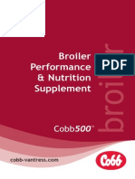 Cobb500 Broiler Performance Nutrition Supplement (English)