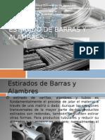 Estirado de Barras y Alambres, produccion
