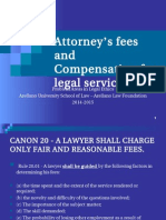 Attorneys fees and compensation for legal services.ppt