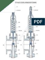 Pressure Safety Valve General Arrangement Drawing