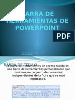 Barra de Herramientas de Powerpoint
