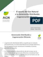 El aporte del Gas Natural a la Generación Distribuida