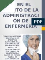 EL ÁMBITO DE LA ADMINISTRAICÓN EN ENFERMERÍA