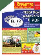 Bikol Reporter February 15 - 21 Issue