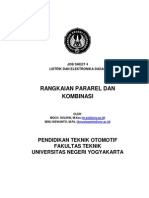 Job Sheet 4. Rangkaian Pararel Dan Kombinasi