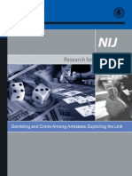 gambling and crime nij study