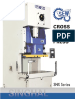 SEW SNX Series Power Press Brochure