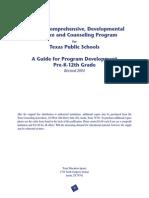 texas model developmental guidance program