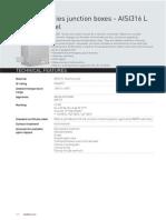 AQ AR Series Junction Boxes - AISI316 L (3)
