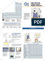 SEW-SLX Series Link Motion Power Press