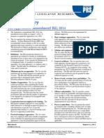 Bill Summary- Apprentices