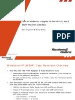 WBHF Waveform Data Rates