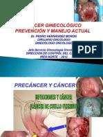 Cáncer Ginecológico Prevención y Manejo Phm Ene 2012