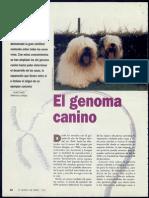 El genoma canino