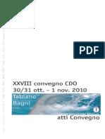 Convention CDO Italy 2010
