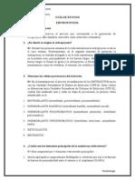 Guía de Estudio Eritropoyesis