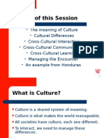 Cross Culture management