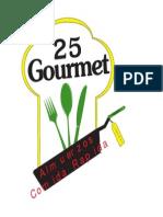 Logo 25 Gourmet